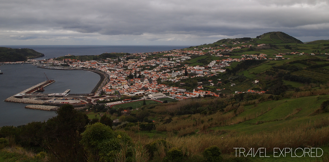 Horta - View from Ponta Da Espalamaca