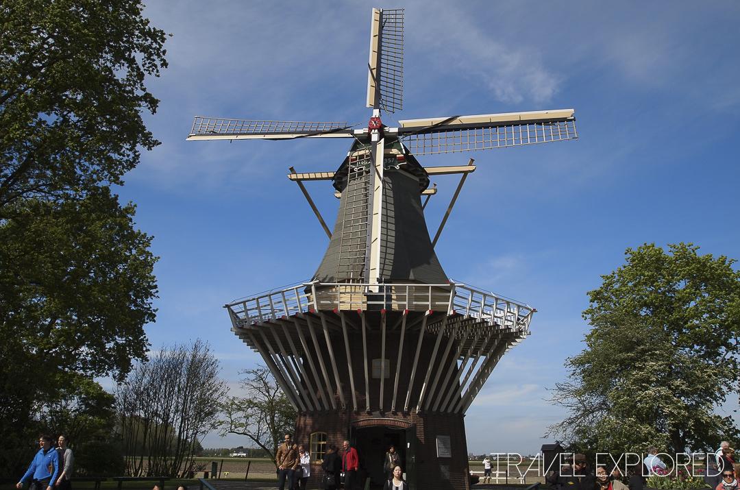Amsterdam - Keukenhof Gardens Windmill
