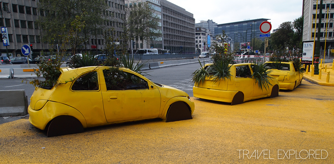 Brussels - Yellow Cars