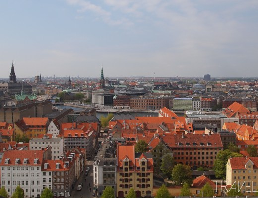 Copenhagen - View from Our Saviours Church