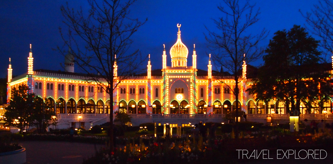Copenhagen - Tivoli Gardens by night