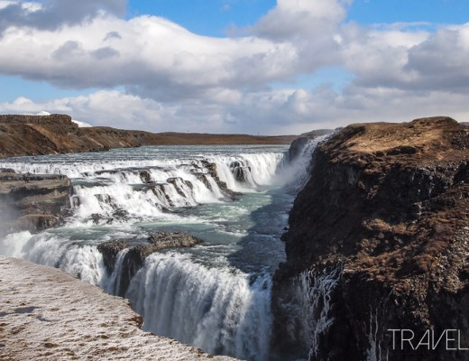 Golden Circle - Gullfoss (Golden Falls)