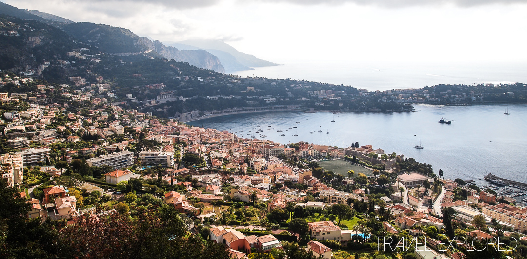 The View Over Ville Franche