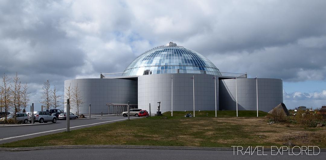 Reykjavik - Perlan Building containing Saga Museum