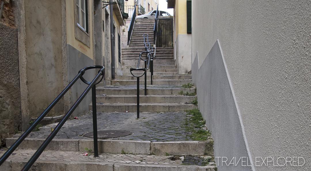 Lisbon - Stair Case