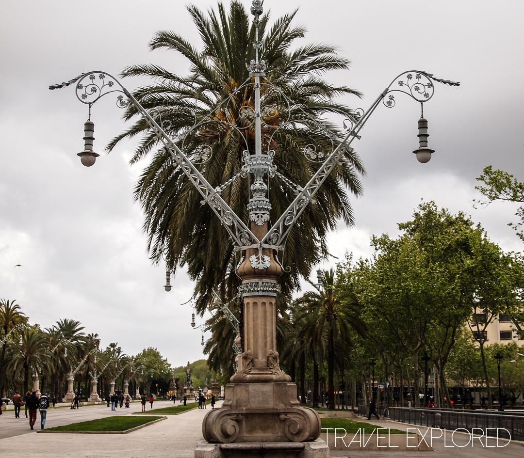 Barcelona - Interesting Lamp Post