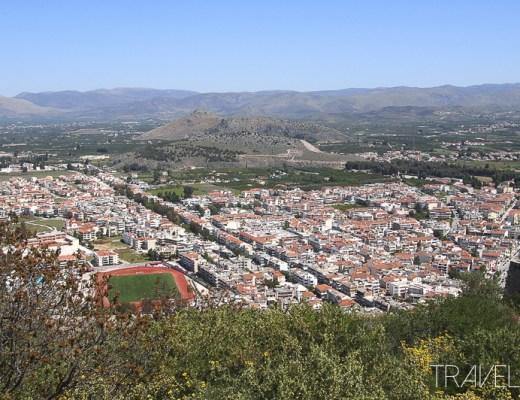 Nafplio - View from Palamidi Castle