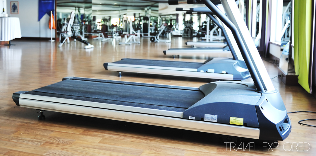 Fit and Healthy Cruise Travel - Treadmill