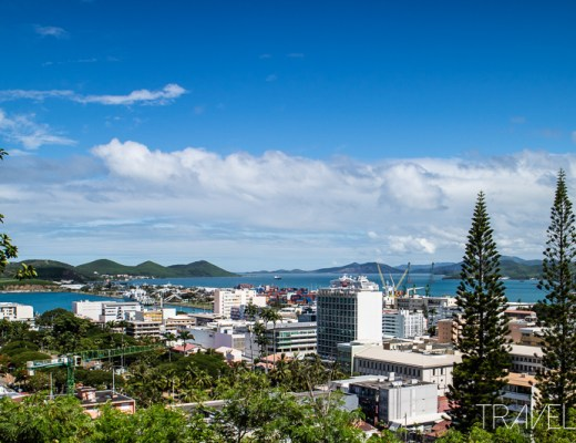 Sun Princess - Noumea City Views