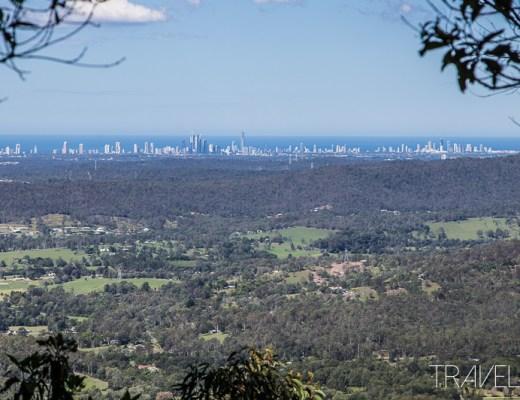 Tamborine Mountain - Coastal Views from Palm Grove Section