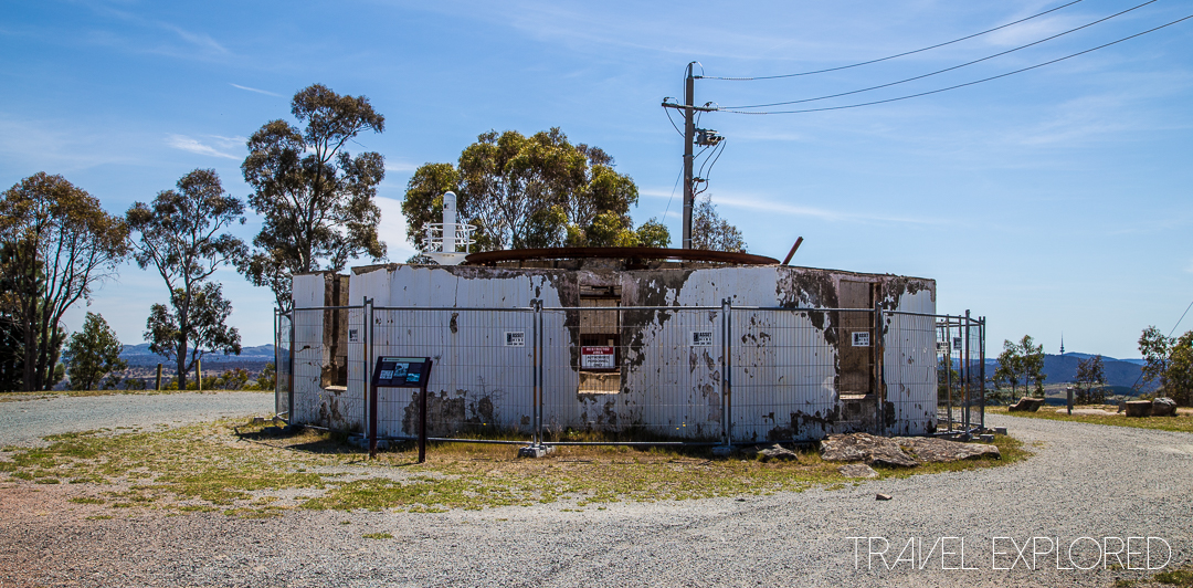 Canberra - Mount Stromlo destroyed building home of the Oddie Telescope
