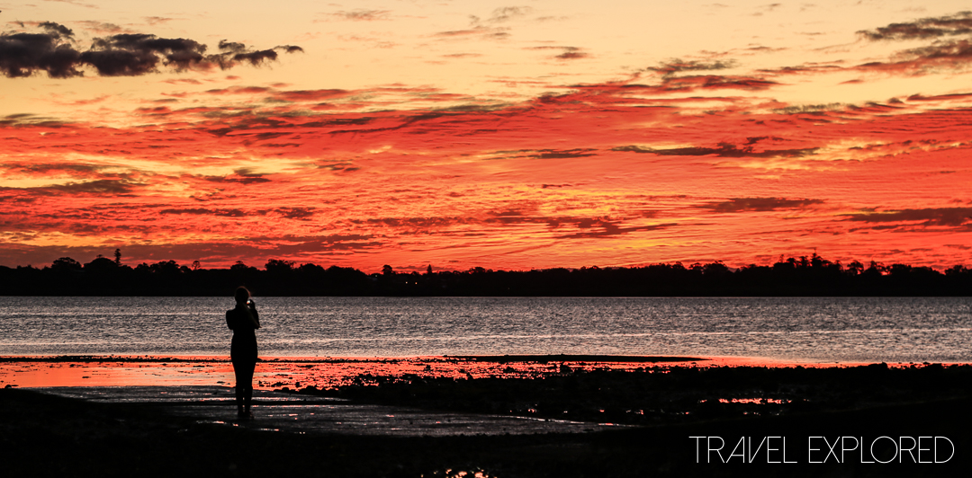 Sunset - Cleveland Point, 13th July 2014