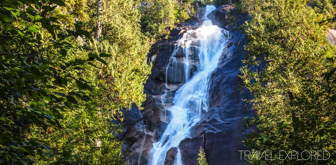 Waterfall - Shannon Falls, Squamish, BC, Canada