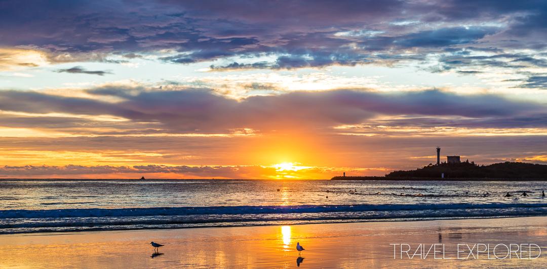 April 24th 2015 - Mooloolaba Beach Sunrise