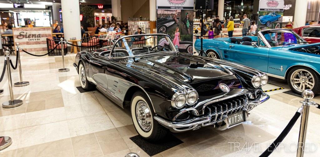 Black 1959 Chevrolet Corvette