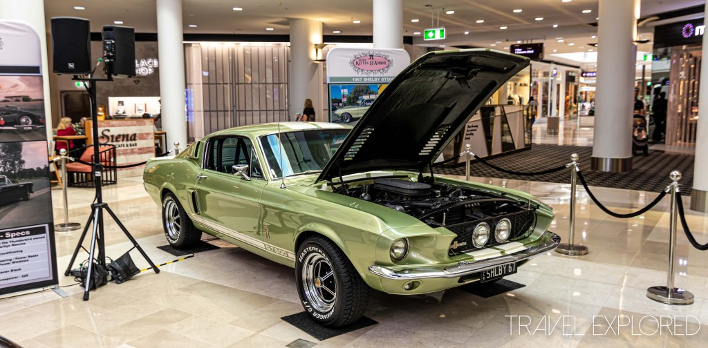 Green 1967 Shelby GT500 Front