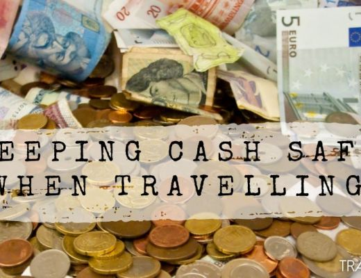 Keeping cash safe when travelling