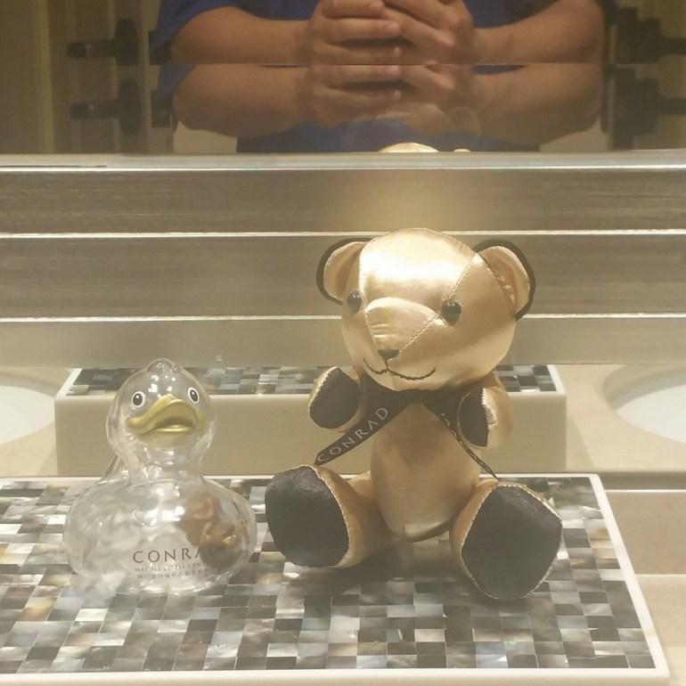 conrad las vegas teddy bear