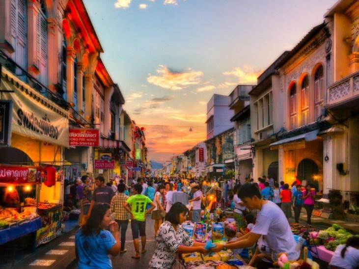 Phuket old town market