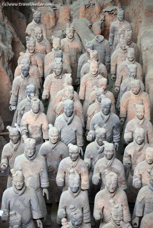 Travel Snapshot The ancient Qin Terracotta Warriors