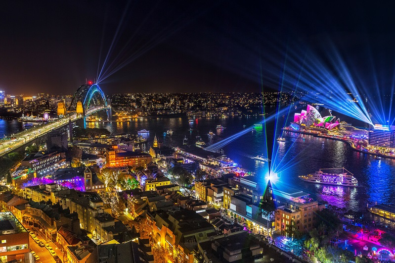 Top Spot To View The Best Of Vivid Sydney
