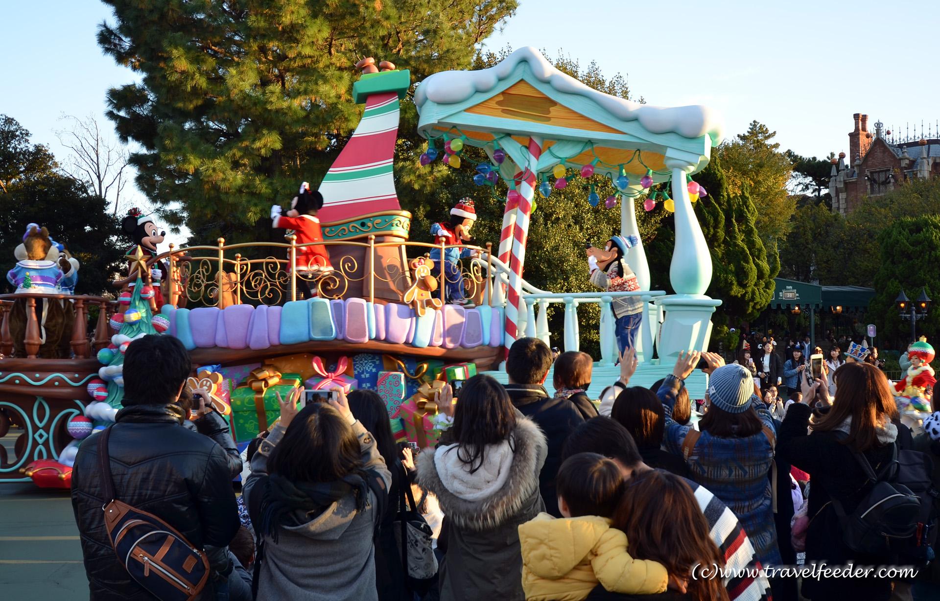 Family holiday in Disneyland