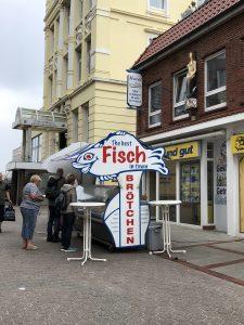 Wo gibt es die besten Fischbrötchen auf Borkum?