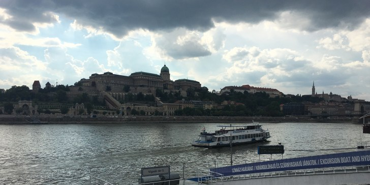 Budapest View of Buda Castle across the Danube