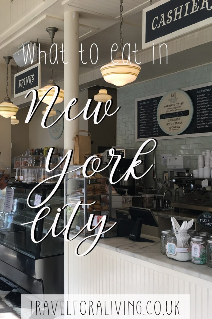 What to eat in New York City - Cheesecake, Hot Dogs, New York Bagels - Travel for a Living