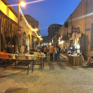 Jaffa at night - Travel for a Living