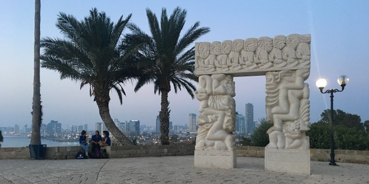 Enjoy the view over Tel Aviv from Old Jaffa - Travel for a Living