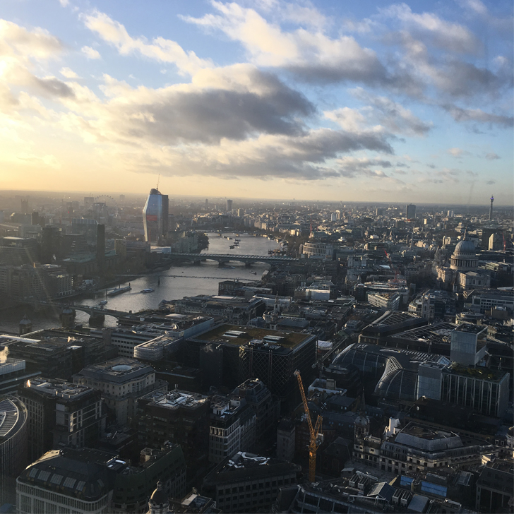Best View of London for free - Sky Garden - St Pauls - Travel for a Living