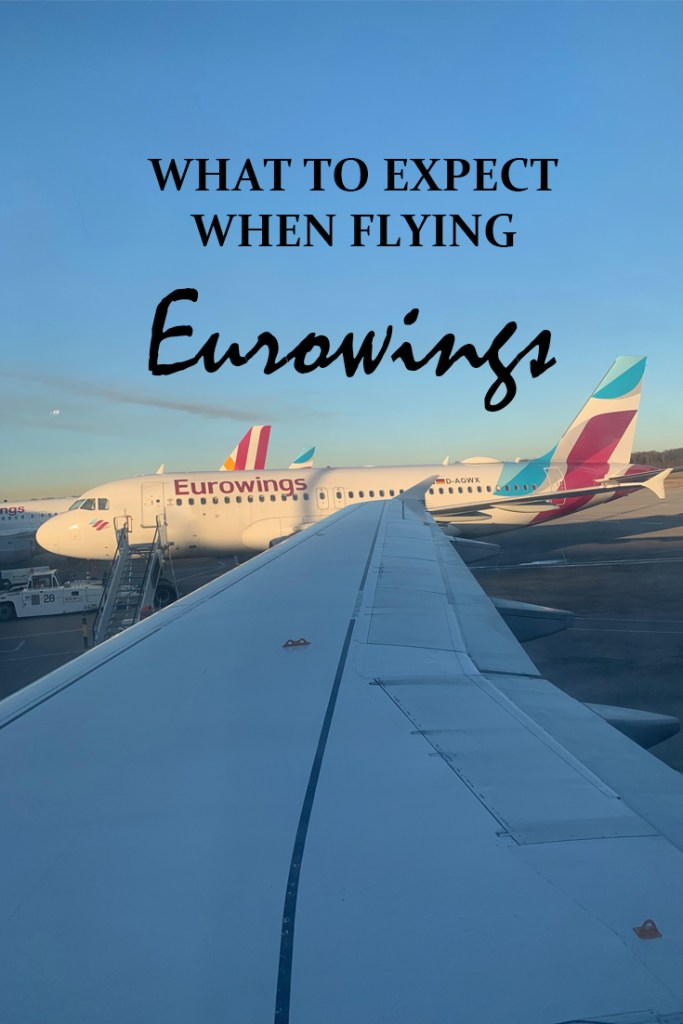 What to expect when flying Eurowings - Travel for a Living
