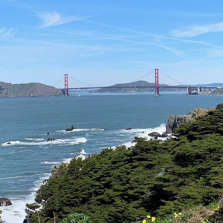 Perfect Viewing Spots for Golden Gate Bridge - Travel for a Living