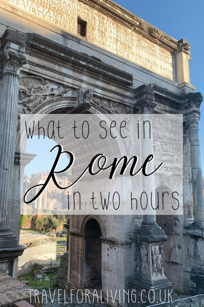 A self-guided walking tour through Rome in just two hours - Travel for a Living