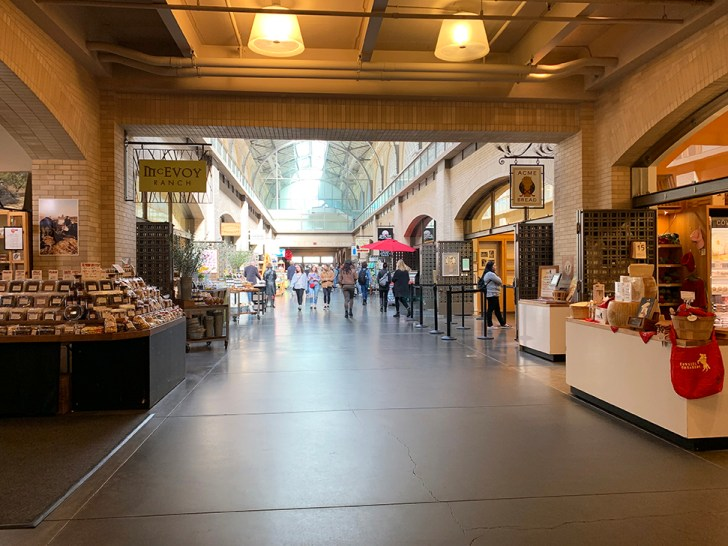 Exploring the shops in Ferry Building - Travel for a Living