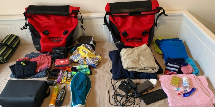 Cycle Touring in the UK - Packing List - Travel for a Living