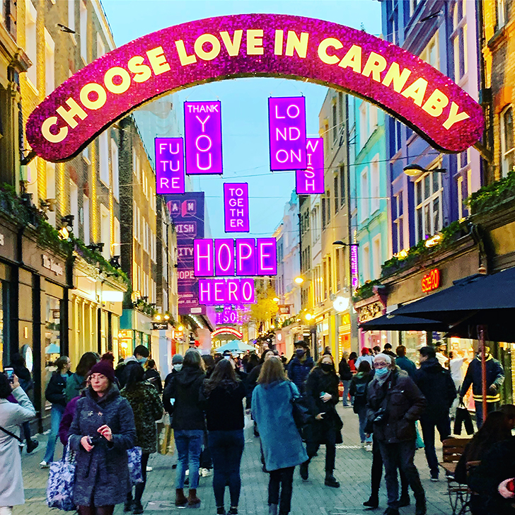 The best route to see London's Christmas Lights on foot - Travel for a Living