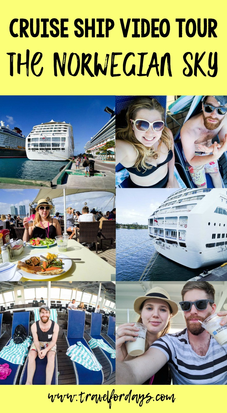 Norwegian Sky Cruiseship Video Tour