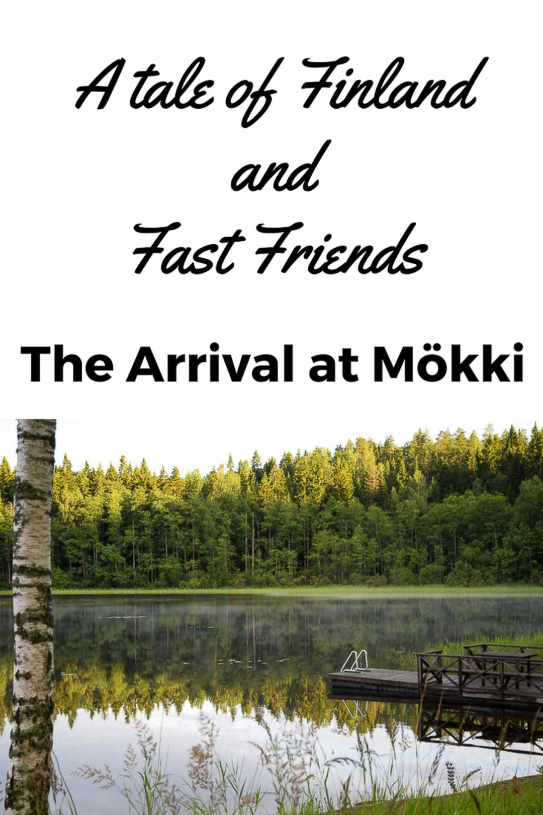 A blog post about arriving in Finland to spend a week with friends we only met once in Argentina.