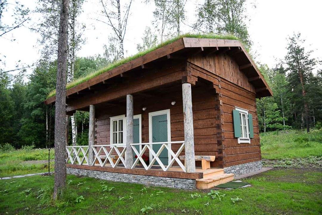 A new Finnish outdoor sauna