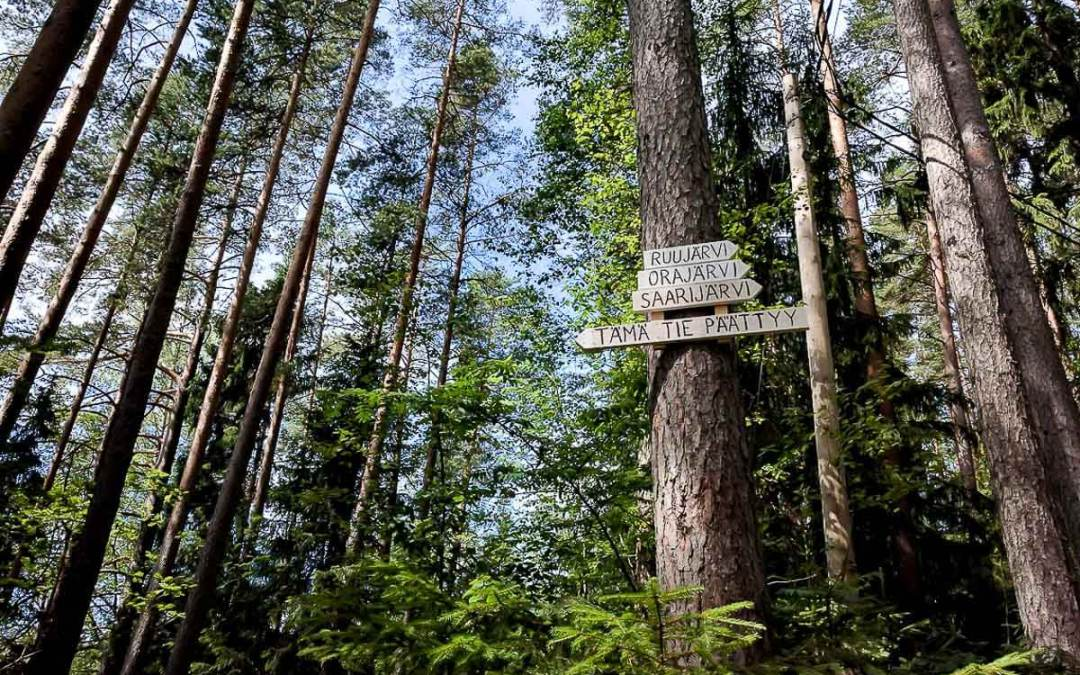 A Photo Essay: Hiking in Espoo, Finland