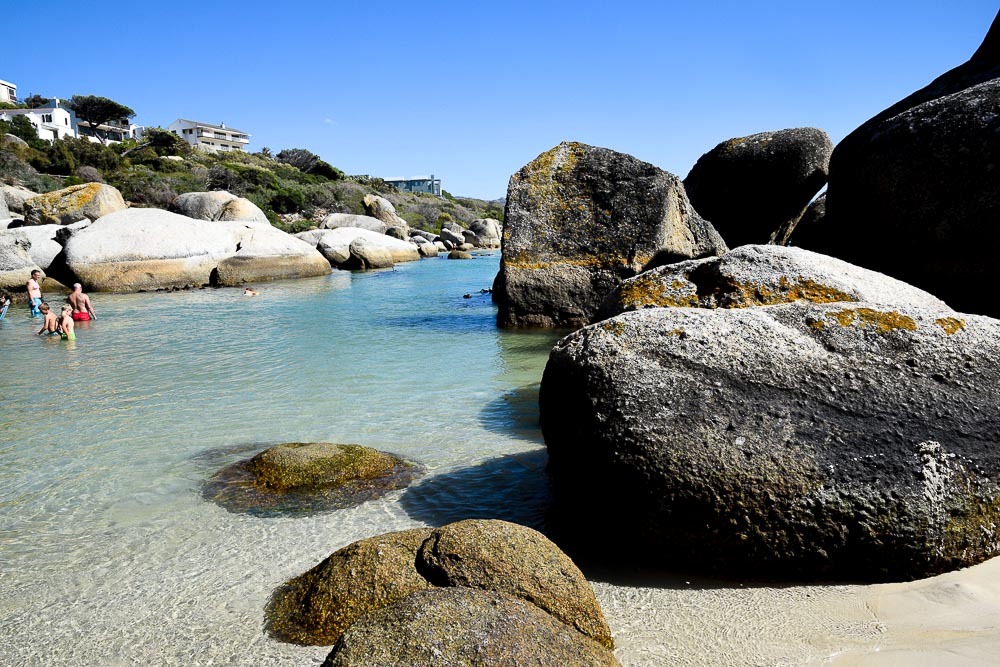 boulders beach swimming area