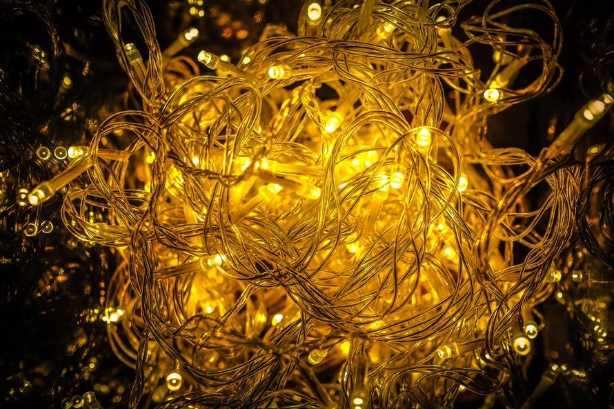 Ball of Fairy Christmas Lights
