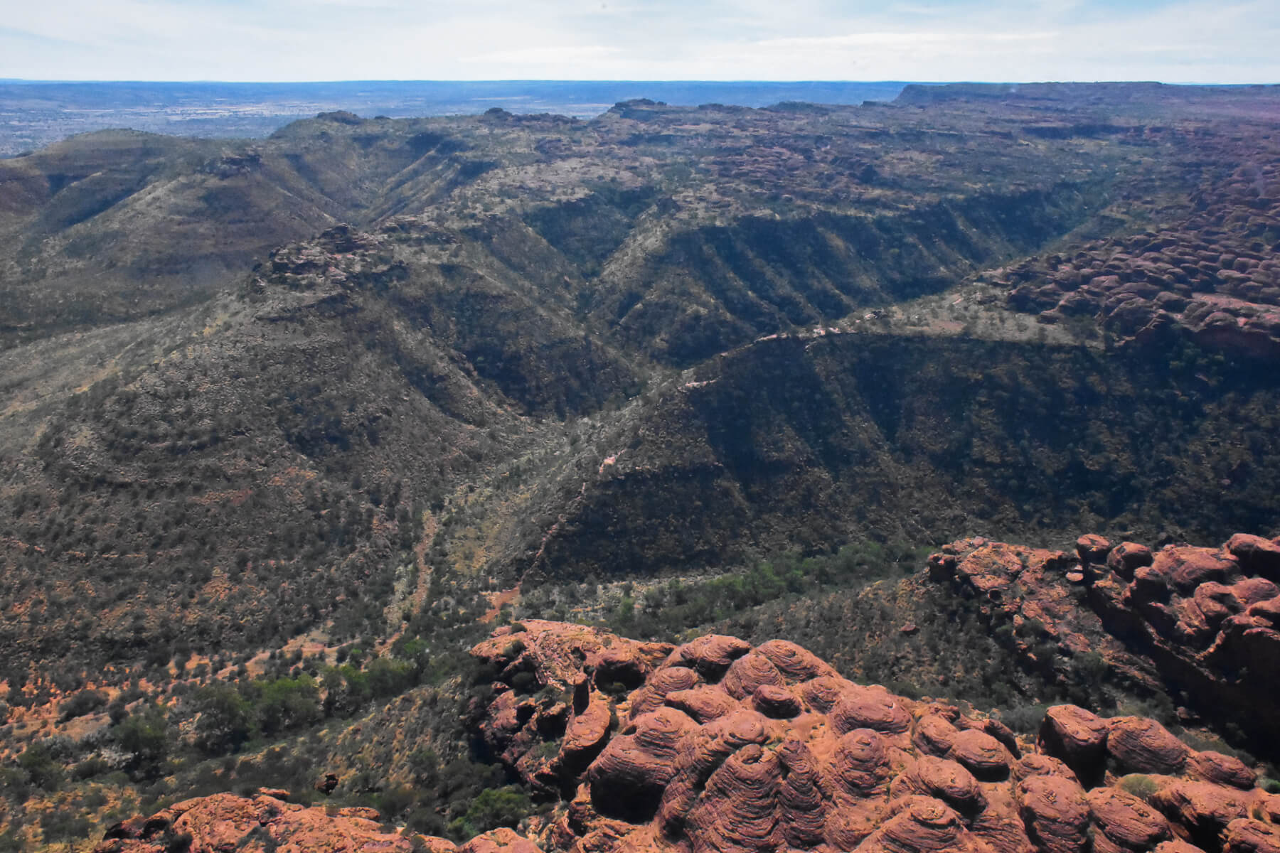 Rugged landscape of Kings Canyon