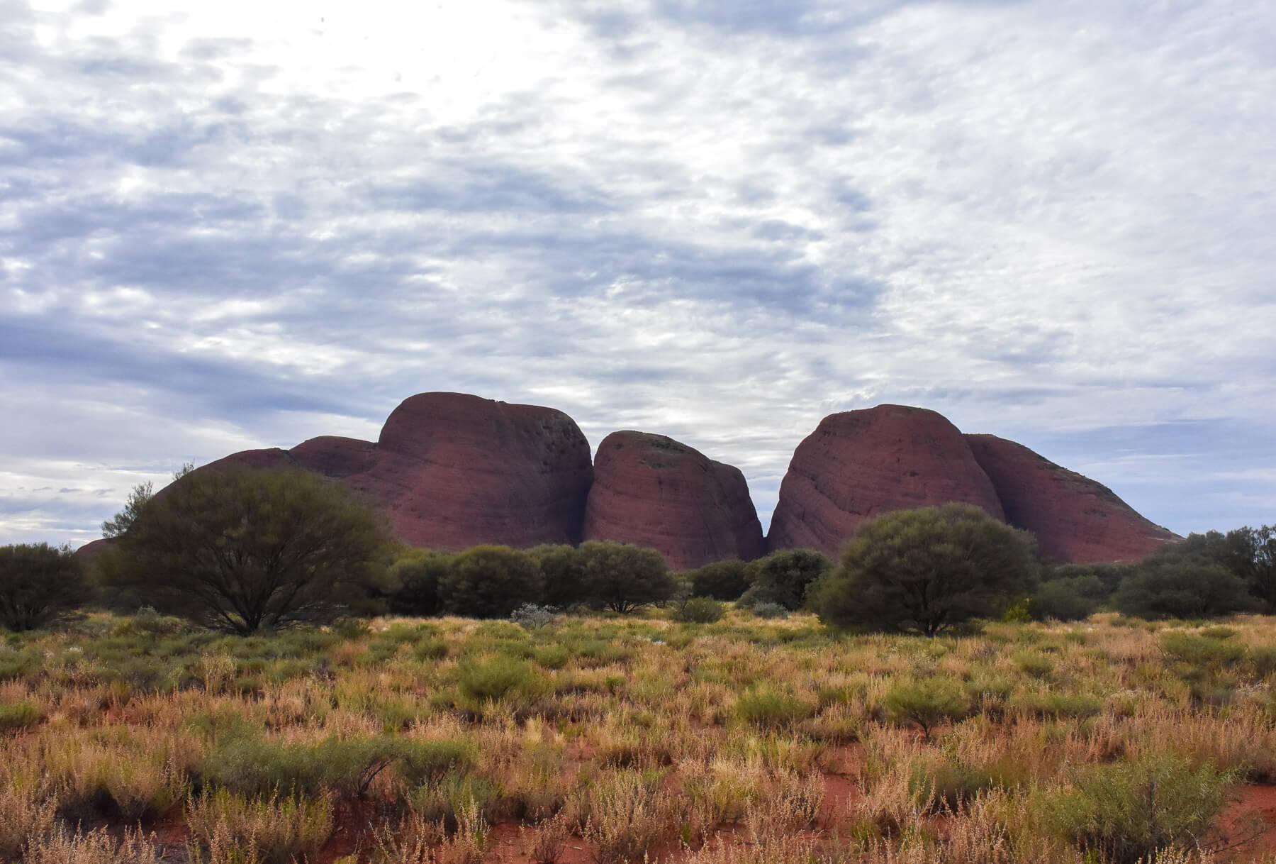 Red stone Olga domes