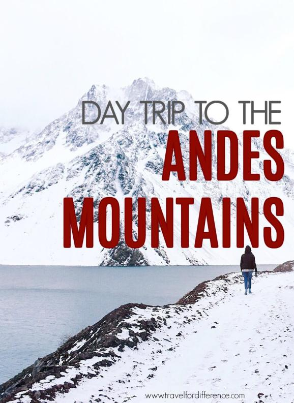 Day trip to the Andes Mountain