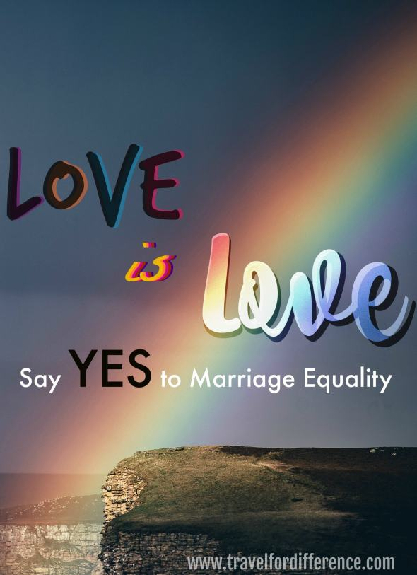 Love is love - Say YES to Marriage Equality