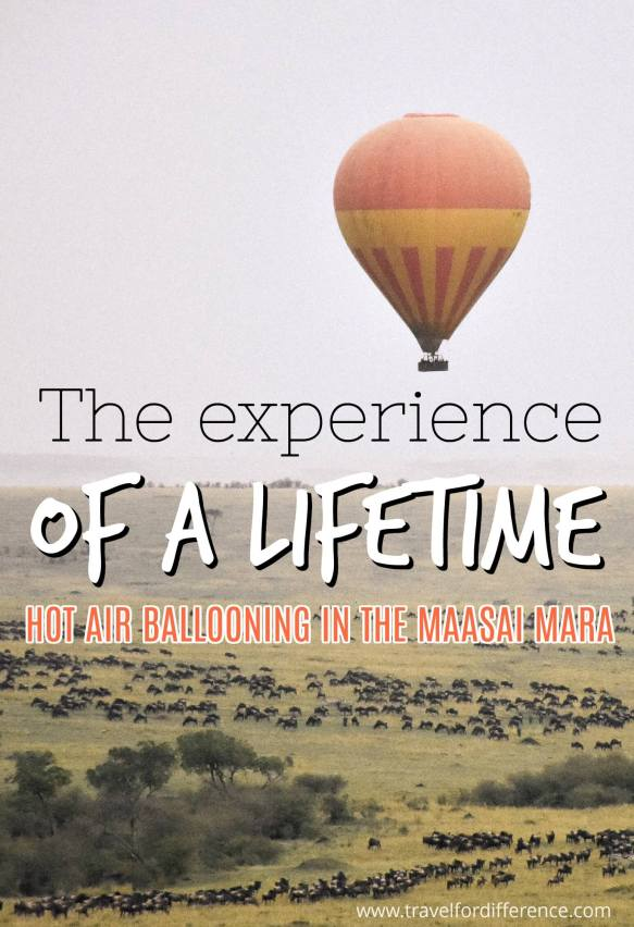 The experience of a lifetime - Balloon safari in the Maasai Mara
