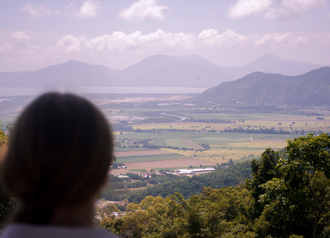 Overlooking Cairns and Karunda from a lookout